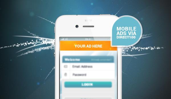 Mobile Ads via Direct100